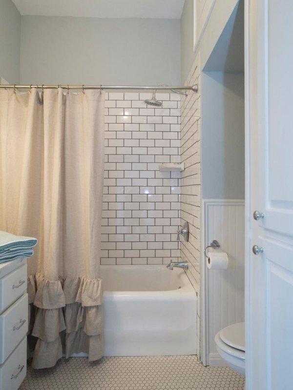 Awesome Shower Subway Tile Photos - The Best Bathroom Ideas - lapoup.com