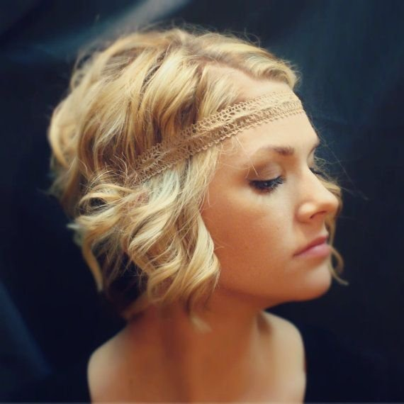 Hairstyles For Short Hair Using Headband : ... Lace Boho Headband - 22 Stunning Accessories for Women with Short