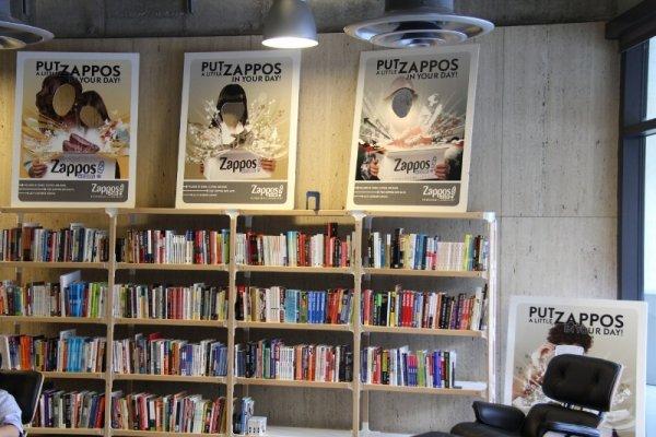 Zappos in las vegas nevada 7 companies with incredibly fun for Zappos office design