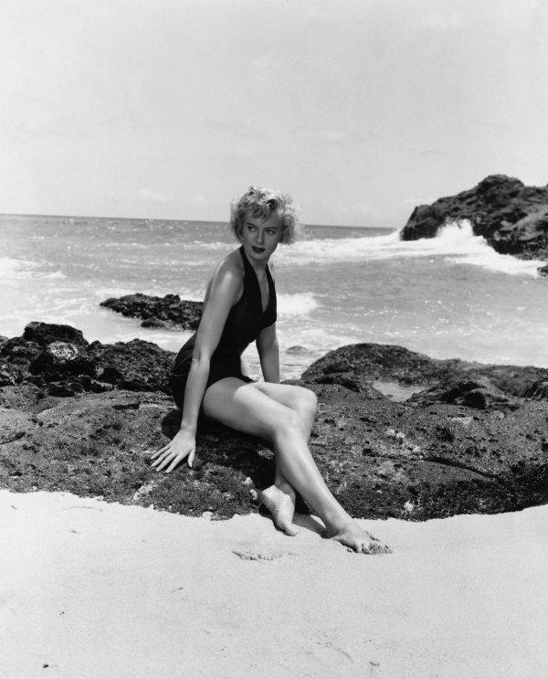 Deborah Kerr in from Here to Eternity (1953)