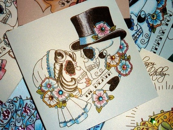 Day Of The Dead Wedding Gifts: 29 Downright Awesome Sugar Skulls You're