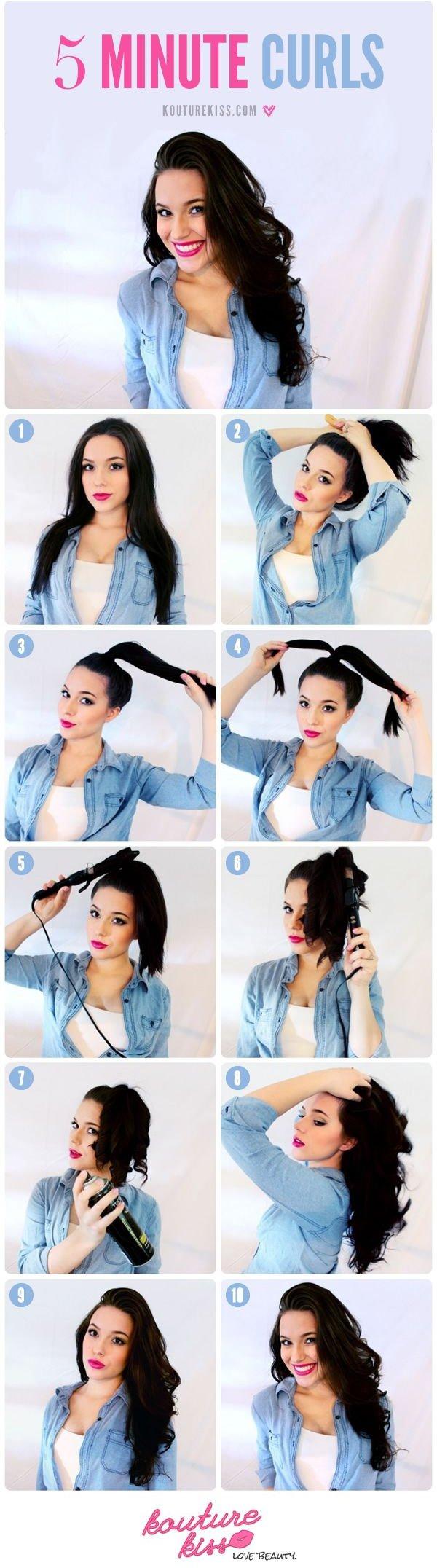 2-Minute Curls