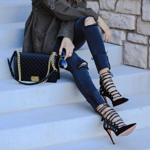 footwear, clothing, leather, leg, fashion accessory,