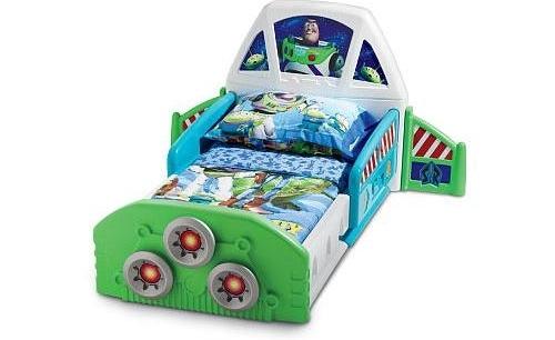 Spaceship Toddler Bed