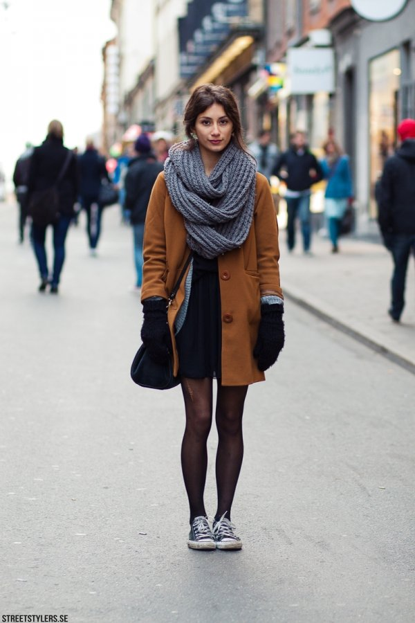 Casual With Converse 26 Bits Of Winter Street Style Inspiration