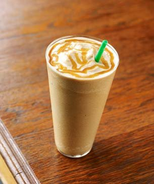 Caramel Frappuccino Light Blended Coffee
