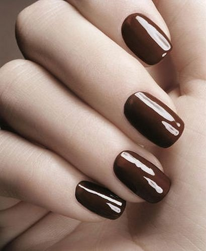 Painting Your Nails Brown