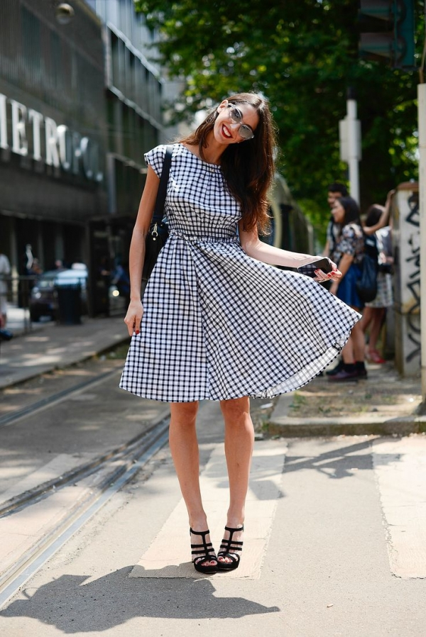 A Pretty Check Even Though It's Not Gingham