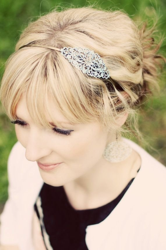 - 22 Stunning Accessories for Women with Short Hair  → Hair
