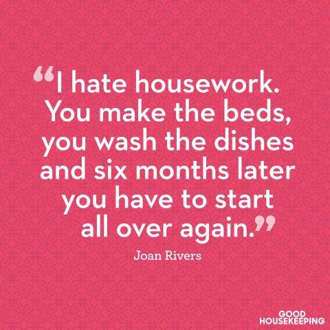 Hate Housework