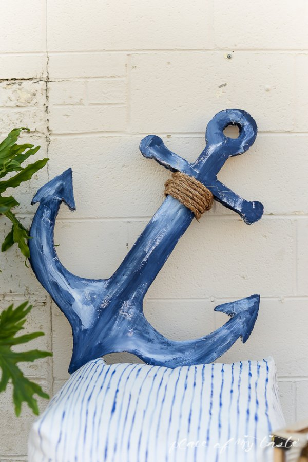 8 diy anchor home d cor projects to give your space a for Anchor decoration for the home