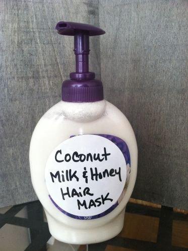 Coconut Milk and Honey Hair Mask