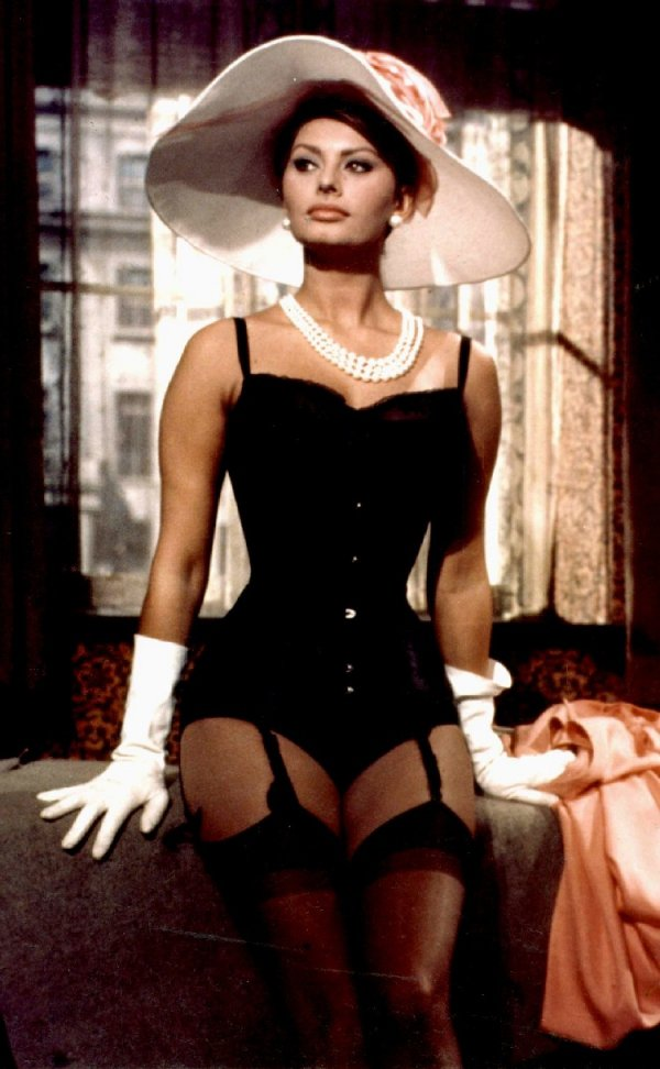 Timeless but with Sexy Lingerie? All Hail Sophia Loren