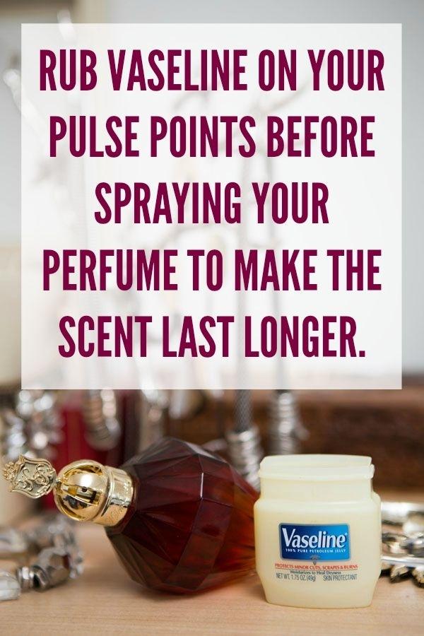 Make Perfume Last Longer