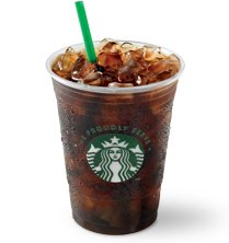 Iced Coffee (with Classic Syrup)