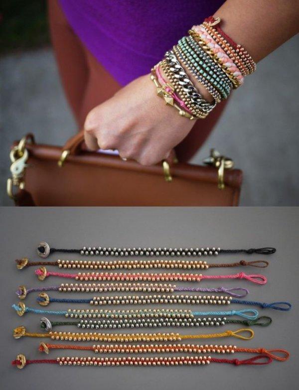 Bright Beaded Bracelet