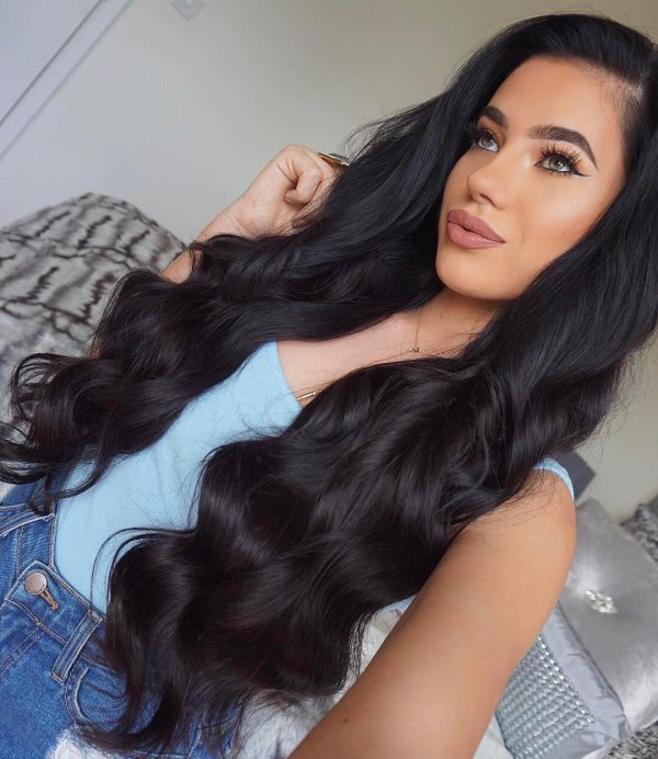 hair, black hair, hairstyle, long hair, beauty,