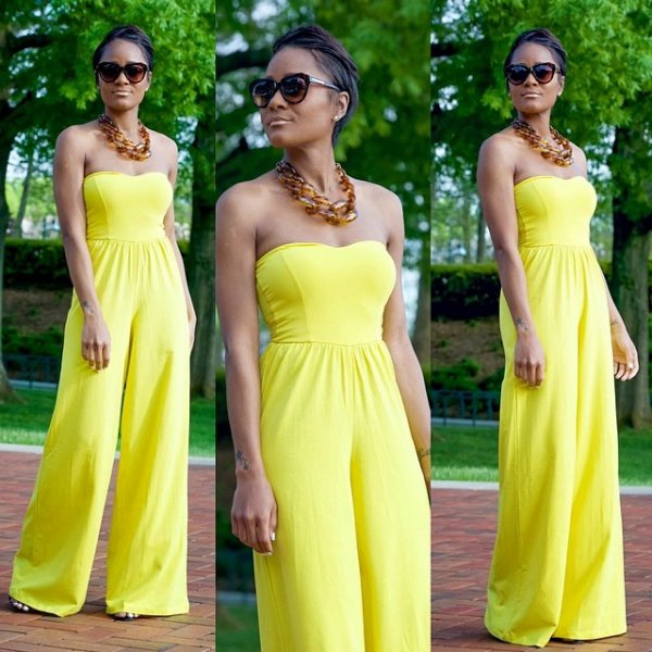 yellow, woman, clothing, dress, person,