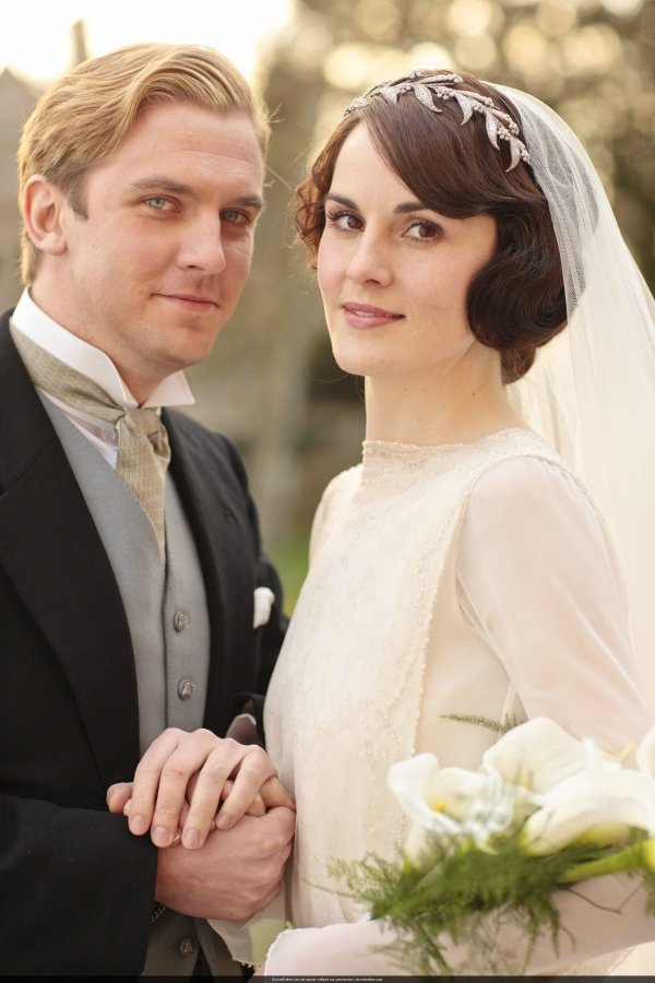 Lady Mary And Matthew Crawley Downton Abbey 7 Cutest Tv