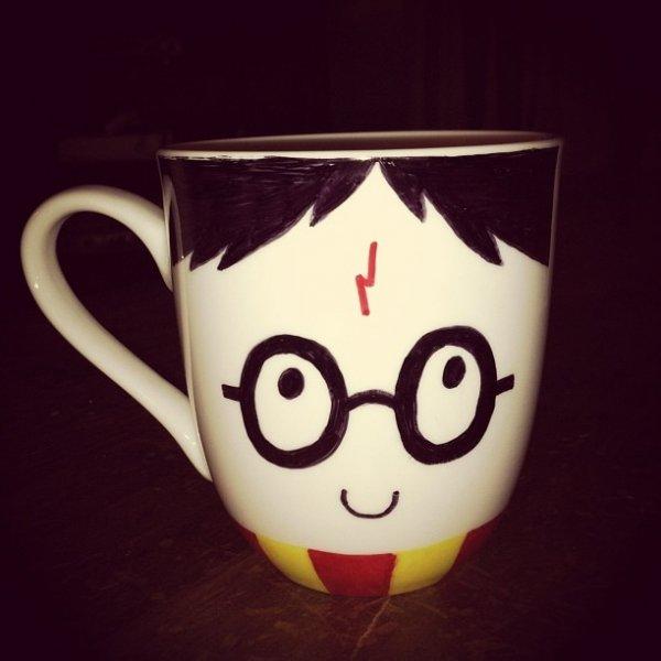 Character Sharpie Mug