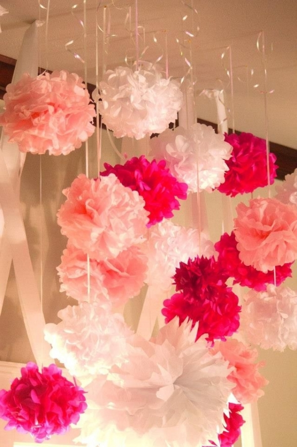 27 super cute baby shower decorations to make your party for Baby shower decoration ideas diy