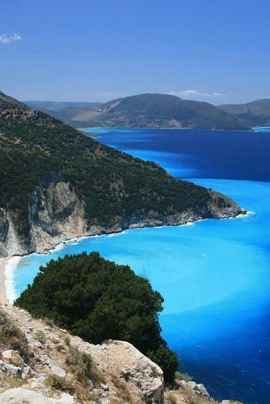 Myrtos Beach, Kefalonia, Greece - 61 Beautiful Beaches to ...