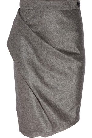 Vivienne Westwood Anglomania Philosophy Wool Blend Pencil Skirt