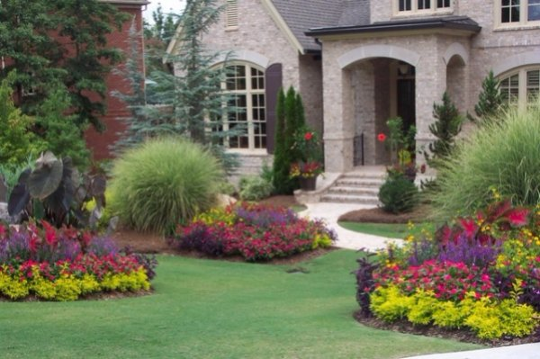 Try Several Large Flower Beds