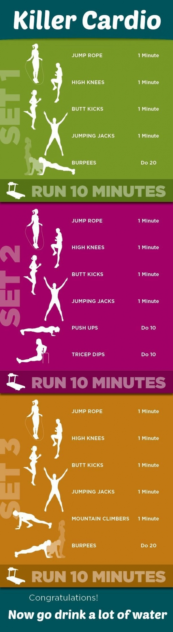 This is a Tough Cardio Workout