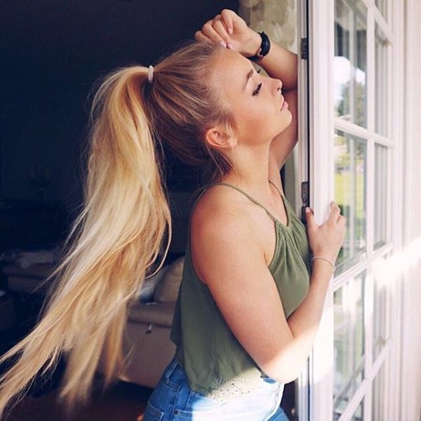 hair, person, blond, woman, hairstyle,