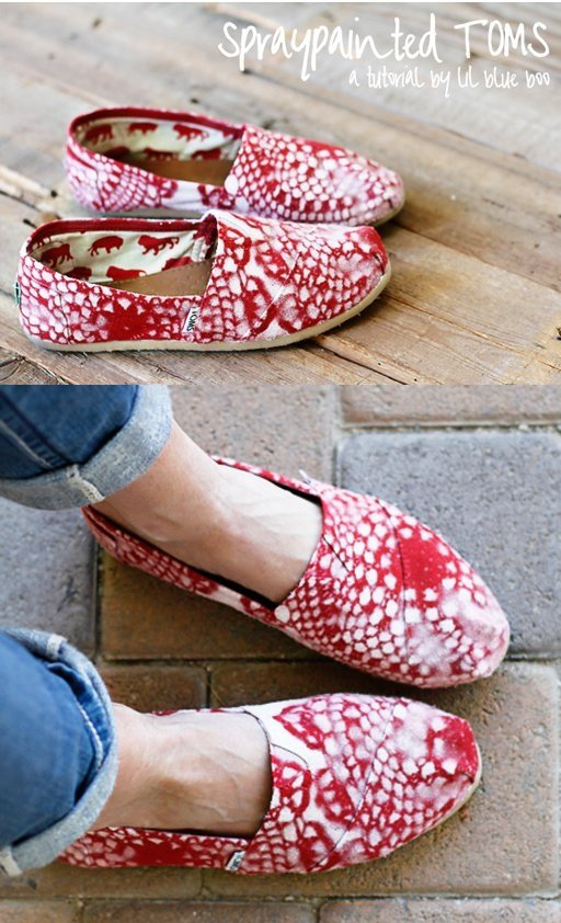 Spray Paint Your Toms