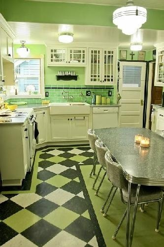 Retro Kitchen Before And After More Betty Crocker Less
