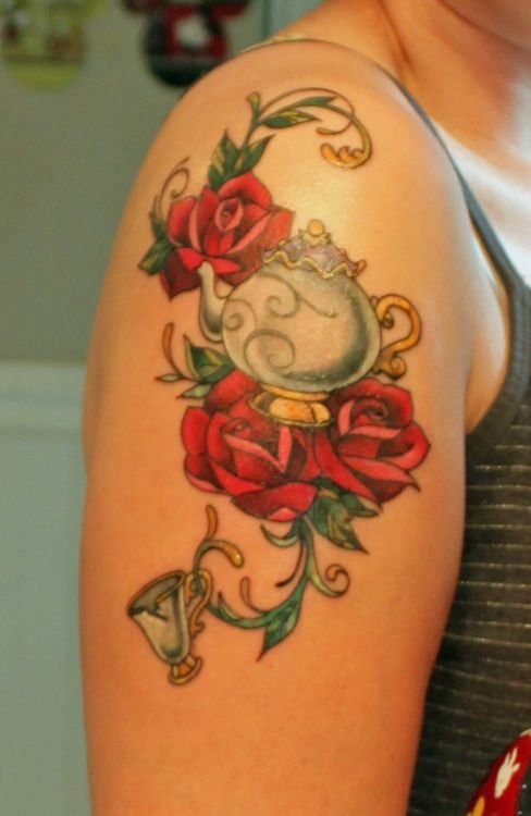 4️⃣4️⃣ Disney Inspired Tattoos 🎨 to Bring out Your Inner ...