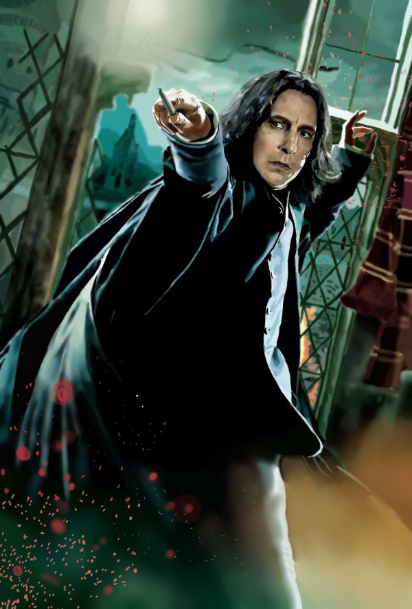Severus Snape in Harry Potter and the Deathly Hallows