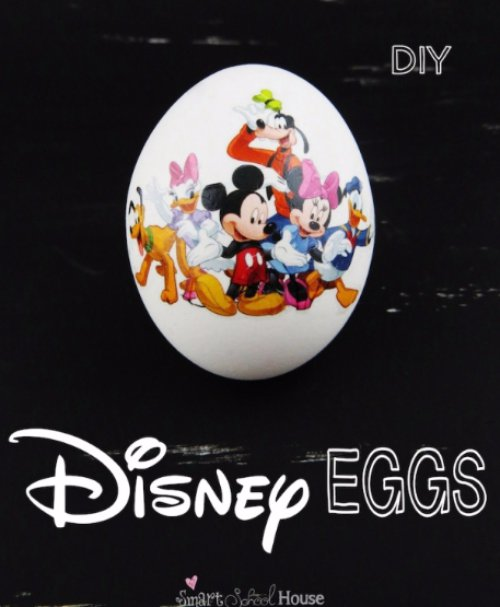 How to Make Disney Eggs