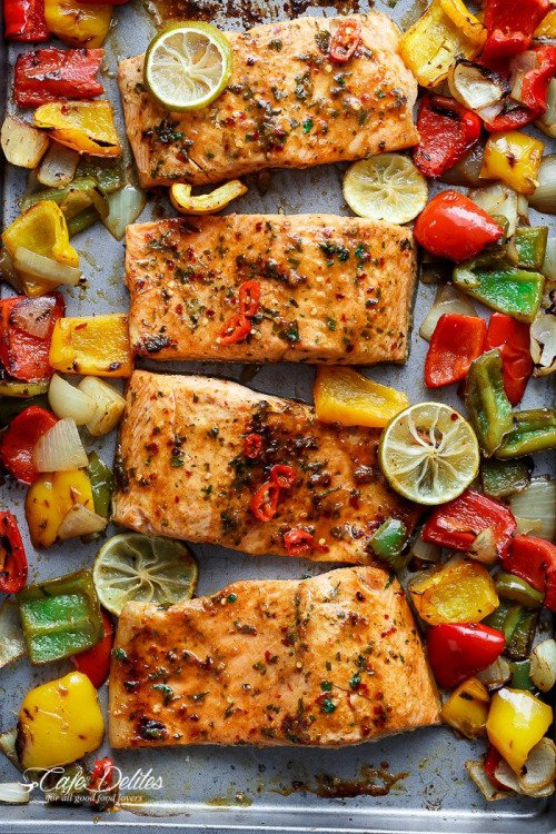 Salmon is a Yummy Choice