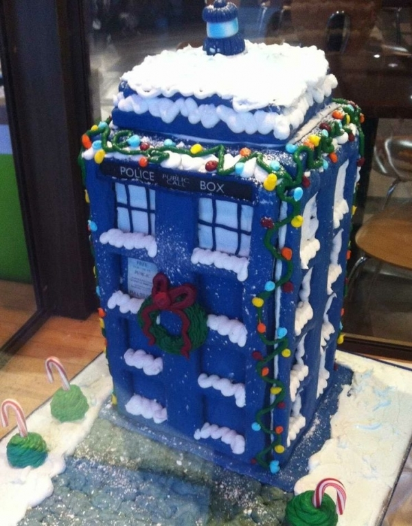 23. Doctor Who - 38 Gingerbread Houses You Can Build and Eat ...