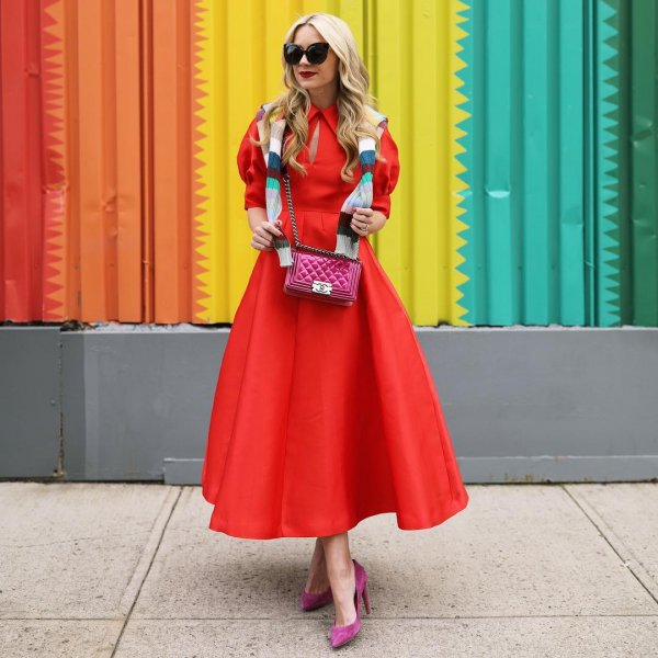 clothing, red, pink, fashion, costume,