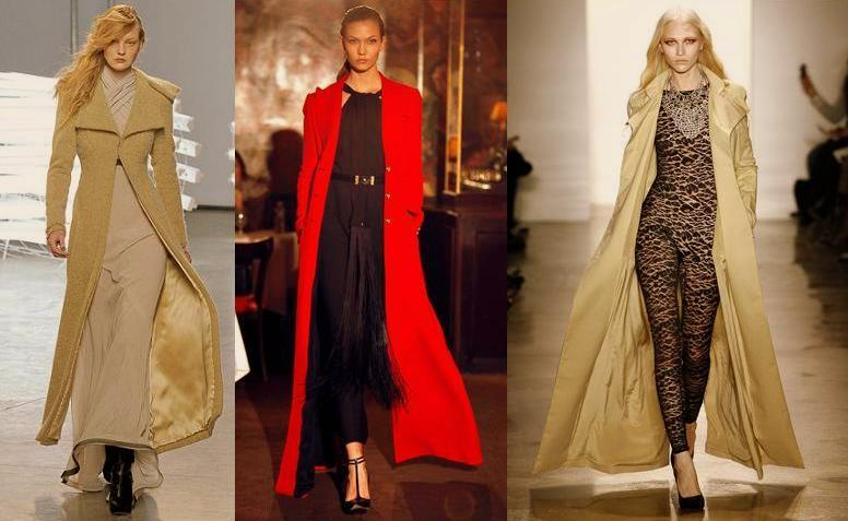 Add Drama With Floor Length Coats