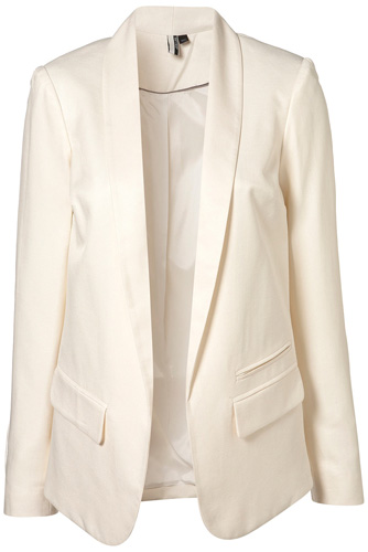 Images of Cream Blazer Womens - Reikian