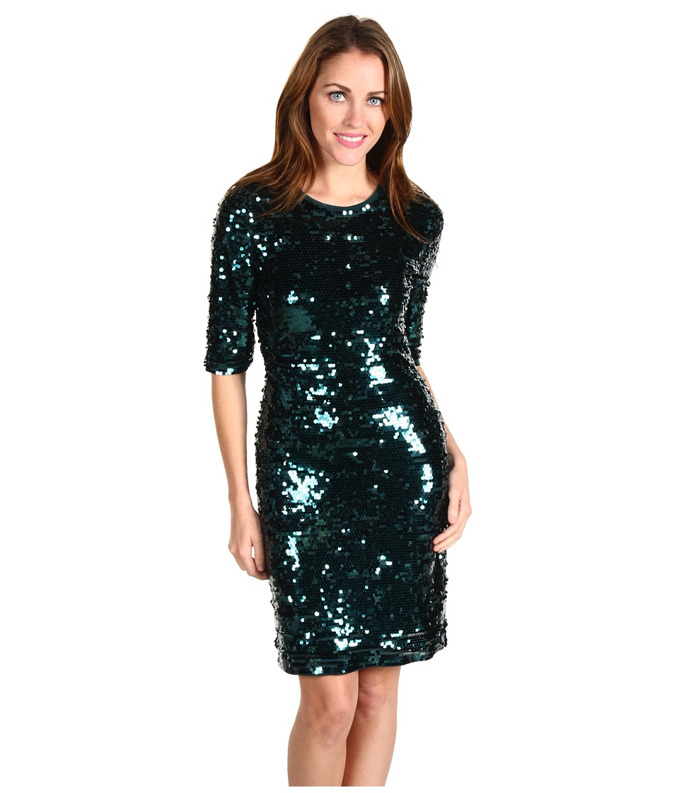 BCBGMAXAZRIA Sequined Dress