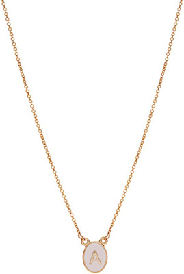 ASOS Mini Initial Pendant Necklace