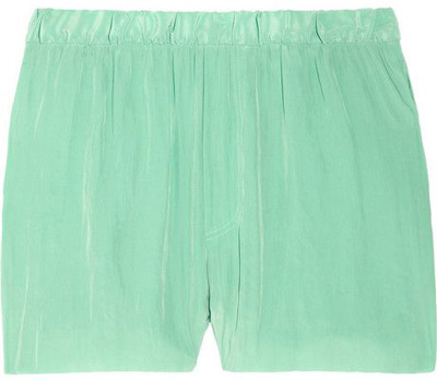 Acne Crinkled Crepe Shorts