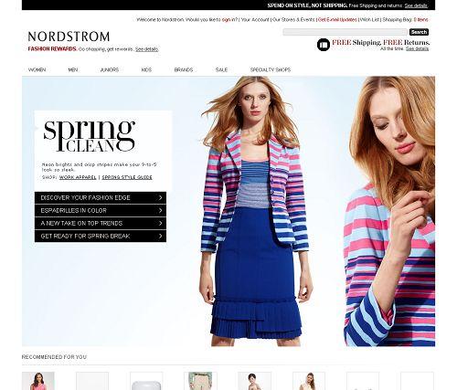 {{Nordstrom http://shop.nordstrom.com/}}