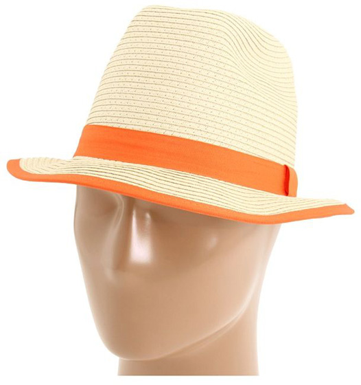 Steve Madden Fedora with Colored Band
