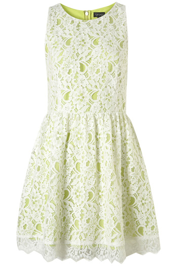 Tosphop Sleeveless Lace Dress