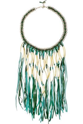 Antik Batik Elias Tasseled Necklace