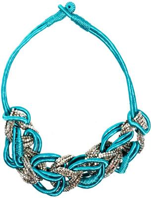ASOS Silk Cord Statement Collar