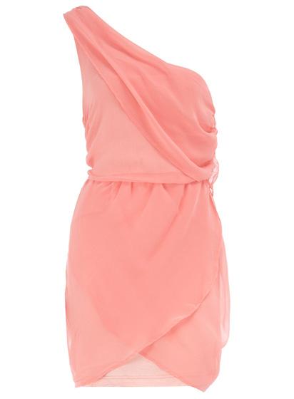 Dorothy Perkins Pink One Shoulder Dress - 9 Trendy Pale Dresses to…