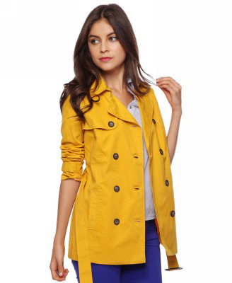 Forever 21 Belted Trench